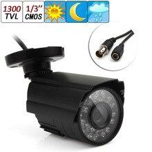 NEW New 1300TVL Waterproof Outdoor CCTV Security Camera IR Color Night Vision 3.6mm Lens