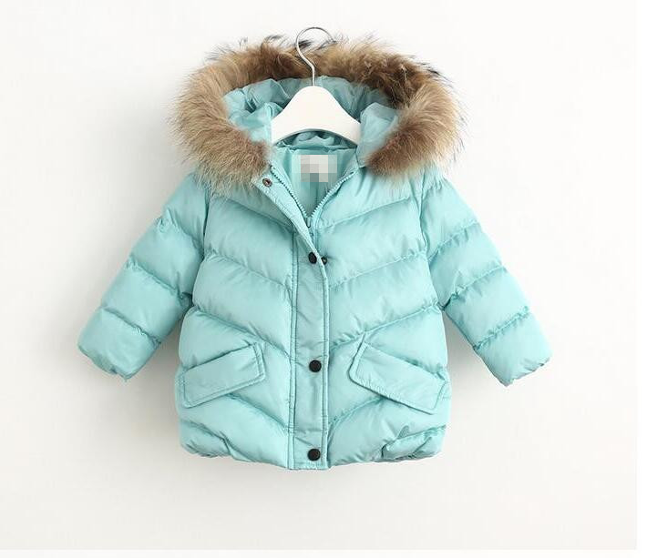 YB31134084 2017 Girl Jacket Worm Hooded Girl Coat Winter Kids Outerwear Girls Clothes Fashion Zipper Girl Outerwear Kids Clothes аккумулятор yoobao yb 6014 10400mah green