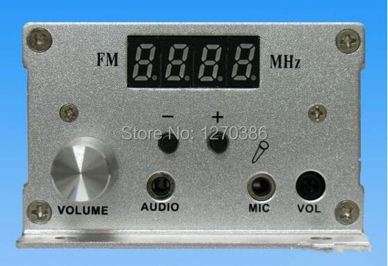 Free Shipping!!! 7w FM PLL LCD stereo transmitter Radio Station free shipping czh618f 100c 100w 2u fm stereo radio transmitter exciter power adjustable from 0 to 100w