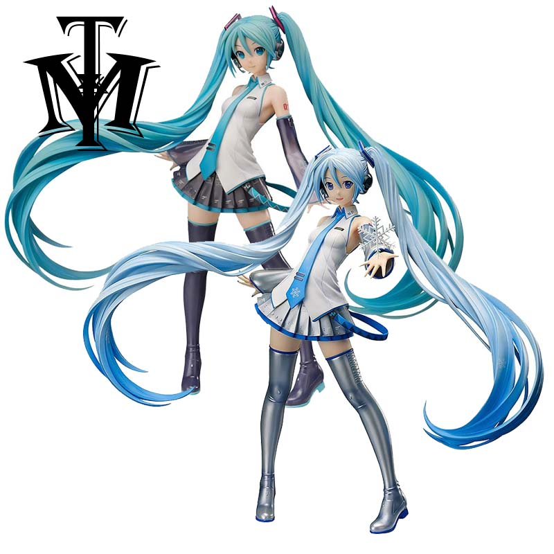 Us 116 8 Japan Anime Snow Hatsune Miku Vocaloid 3 Ver 42cm Action Figure Model 1 4 Doll Pvc Music Girl Collection Hot Toy Christmas Gift In Action