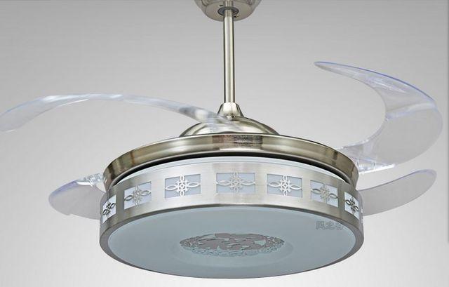 Lamp Woonkamer Plafond : Led eenvoudige mode eetkamer woonkamer plafond fans plafond