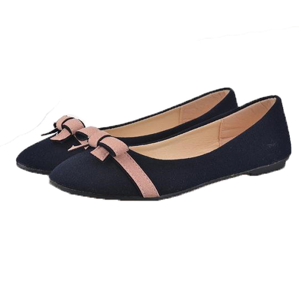CAGACE 2018 Women Shoes Women's Flats Ladies Comfy Shoes Soft Slip-On Casual Boat Shoes Flower shoes Female Girls Office Flats new style women girl spring mixed colors casual shoes female pretty flat shoes comfy soft slip on single casual boat shoes s