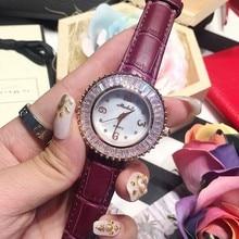 Марка Женщины Часы Мода кристалл Алмаза Платье Смотреть Высокое Качество Роскошный Горный Хрусталь Леди Наручные Часы Кварцевые Часы relojes