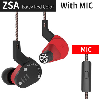 Metal in Earphone Armature And Dynamic Hybrid In Ear Monitors Sport Headset Earbuds HiFi Bass Noise Cancelling Headphones