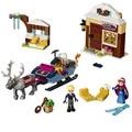 SY372 79276 Принцесса Анна Лед Королевство Области Кристоф Сани Цифры Строительные блоки Совместимость с Lego0 Игрушки