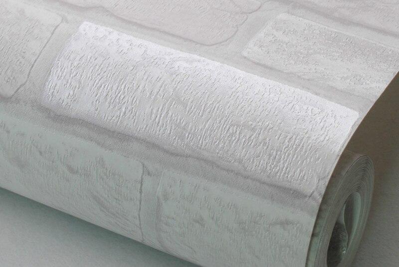 Grijs Wit Slaapkamer : Vintage rustieke grijs wit baksteen behang rol slaapkamer eetkamer