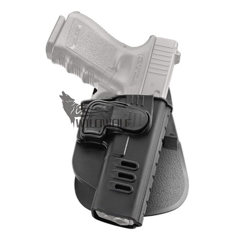 Tactical ch Rapid release Nivel 2 roto Paddle funda para Glock 17 ...