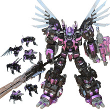 [Promotion]  Jinbaoes MMC black Predaking Feral Rex Figure Toy Action figure Upgrade edition