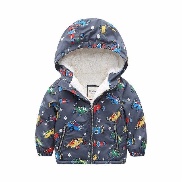 0623245c3 M86 Fashion Cartoon Printing Winter Cotton Chirden Thicken Padded ...