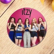 Korean KPOP ITZY New Album IT'z Different Brooch Pin Badge Accessories For Clothes Hat Backpack Decoration 18 Styles Brooches(China)