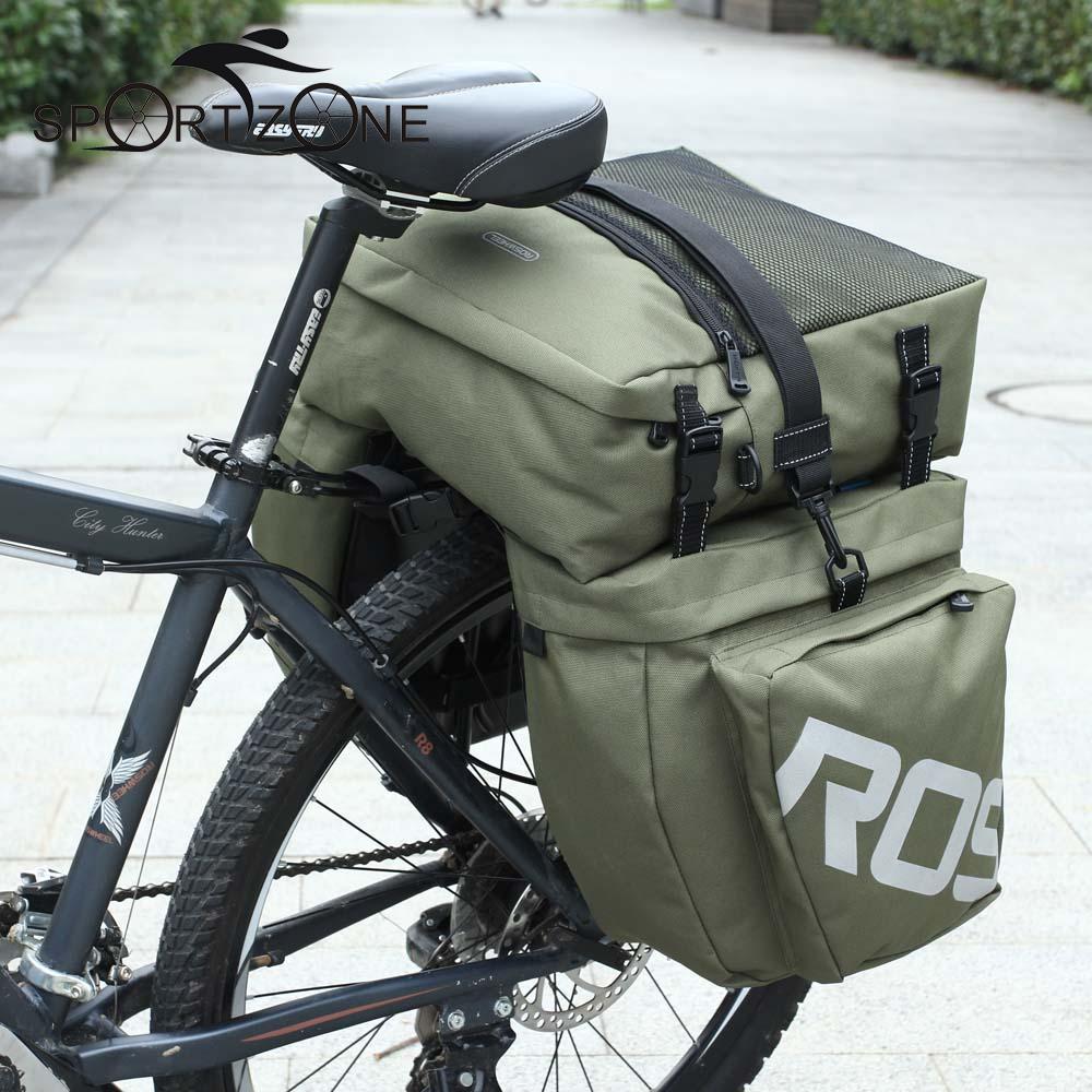 Цена за Roswheel велосипедов сумка задняя стойка багажник 37l велосипедов камера заднего сиденья паньер 2 цветов 3 пакета(ов) велоспорт седло хранения