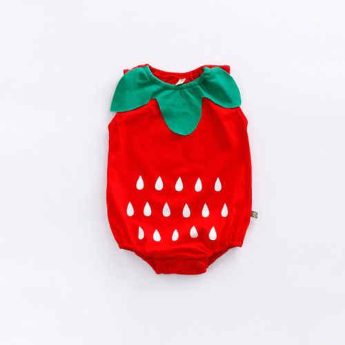 Reizendes Kind Neugeborenen Baby Jungen Mädchen Kleidung Cartoon Body Obst Erdbeere Ananas Outfits Ostern Kostüm Für Baby