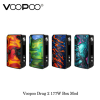 electronic cigarette Voopoo Drag 2 177W TC Box Mod GENE.FIT Chip Powered By Dual 18650 Battery Vape Vaporizer Kit VS VOOPOO 157W