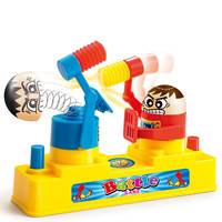 2018 New Toys For Children Offensive And Defensive Play Fun Toy Hammers Head Of Fighter Desktop Parent child Interaction
