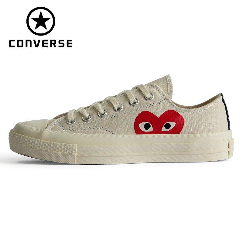 Chuck 70 D'origine Converse all chaussures vedettes amour de style 1970 s hommes et femmes chaussures de sport unisexes classique chaussures pour skateboard 150207C