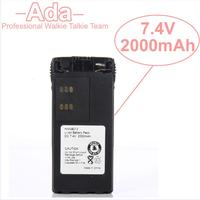 2000mAh 7 4V Li Ion HNN9013A HNN9013D Battery For Motorola Walkie Talkie HT750 HT1550 GP140 GP320