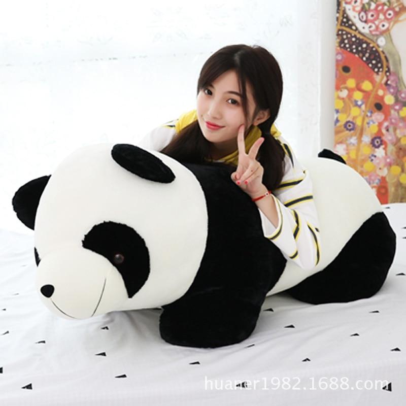 Cute Panda Plush Toy Cute panda doll big size pillow Stuffed Soft Doll kids toys plush panda doll cute red panda simulation animal raccoon dolls holiday gifts