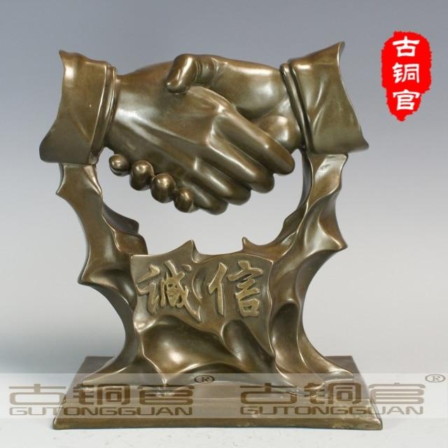 Wholesale Antique Bronze Art Factory Bronze Sculpture Statue Wholesale Old Antique Rare Crafts Co (0405)