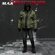 SUPERMC TOYS 1/6 scale action figure doll Accessories Men's Clothing 1/6 Wade Stealth Sets for 12