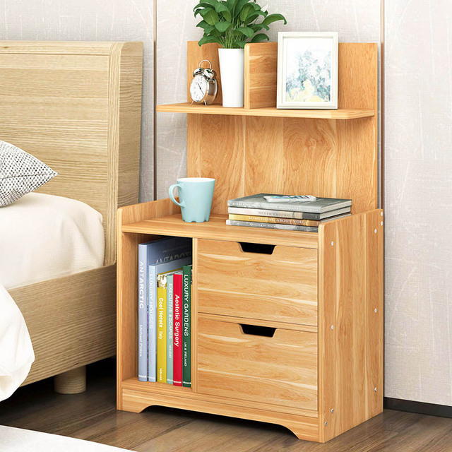 Very Economical Bedroom Nightstands Simple modern bedside table Multifunction Mini bedroom storage cabinet  Economic type Bedside storage locker Home Furniture