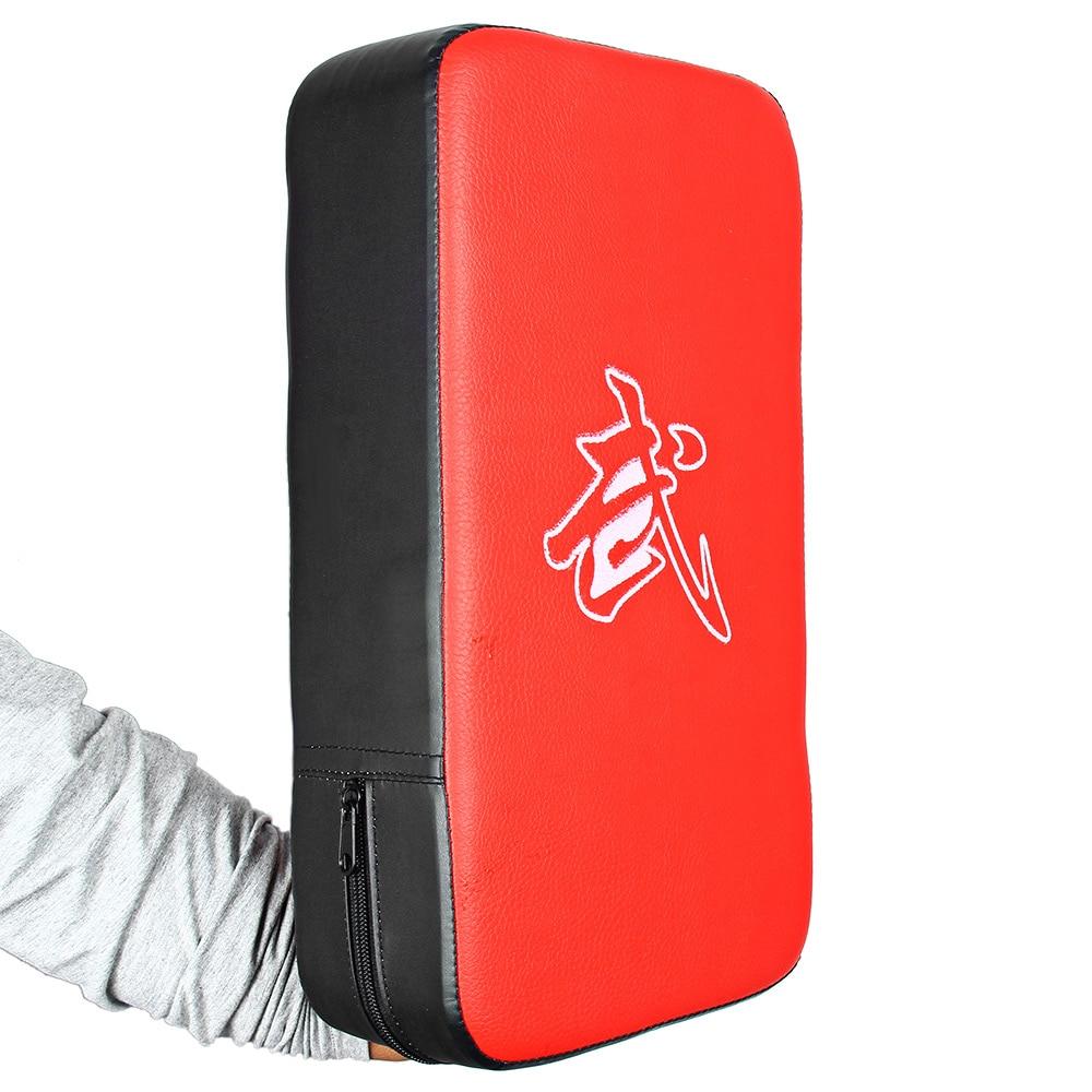 PU Leather Rectangle Focus Boxing Kicking MMA Strike Punching Pad Power Punch Martial Arts Karate Taekwondo Training Equipment китайский для детей в картинках интерактивный тренажер с суперзакладкой