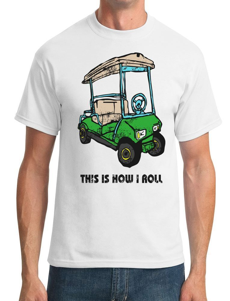 This Is How I Roll - Funny Golfed Mens T-Shirt O Neck T-Shirts Male Low Price Steampunk