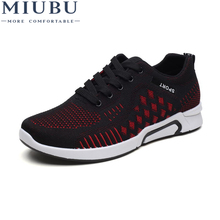 MIUBU Brand Summer Men Socks Sneakers Breathable Mesh Male Casual Shoes Lace up Sock Shoes Loafers Boys Super Light Trainers 2018 new brand summer men casual shoes beathable mesh male casual shoes lace up shoes man super light shoes 5