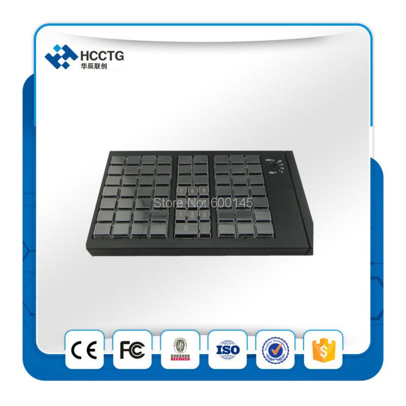 KB66 clavier de programmation USB clavier mécanique Programmable POS sans lecteur de carte MSR - 5