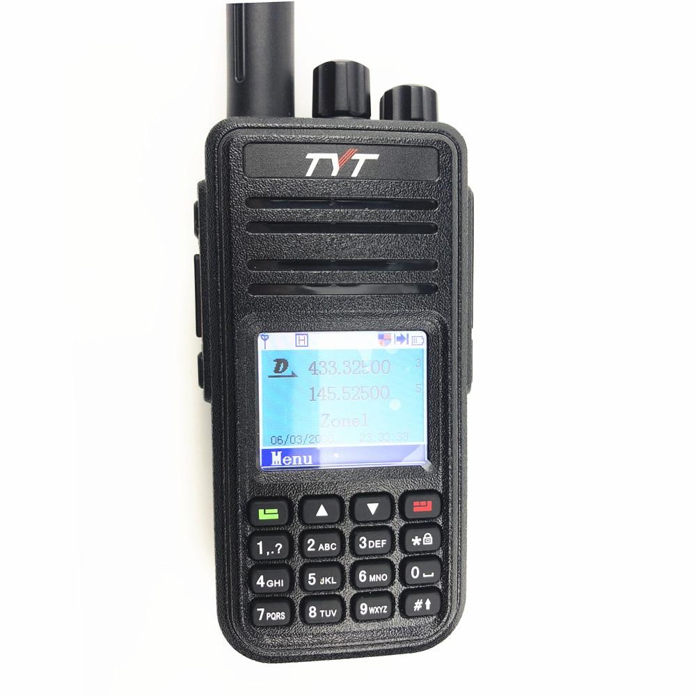 Digital DMR Dual Band Two Way Radio UV380 Dualband Dual Mode UV-380 With 1000 Channels FM Transceiver TYT MD-UV380 Walkie Talkie