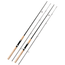 2018 YIYI low-cost 2.1m spinning fishing rod excessive carbon fiber 2 SEC bass fishing pole lure fishing sort out fishing pole salmon rod