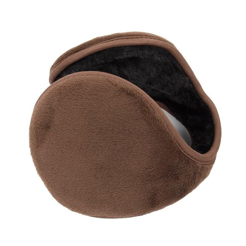 Adult Men Women Winter Outdoor Keep Warm Fleece Earmuff Casual Comfortable Plush Cloth Thick Wrap Cover Ear Band Warmer Earflap