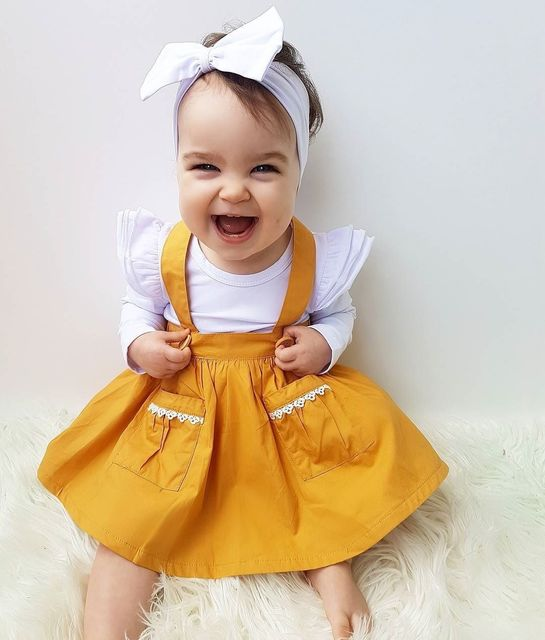 Hot 2017 Toddler Kids Baby Girl Summer Wedding Dress Casual Party ...