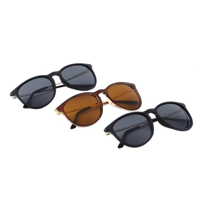 Retro Vintage Cat Eye Round Cycling Sunglasses 3