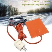 WHDZ – coussinet chauffant en Silicone pour réservoir d'huile moteur 250W, 220-240V, prise ue, protection contre l'usure