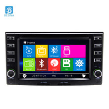 Besina 2 Din Car DVD Player For Kia Carens Cerato Spectra Sorento Sportage Sedona Magentis Magenta Picanto Suria GPS Multimedia(China)