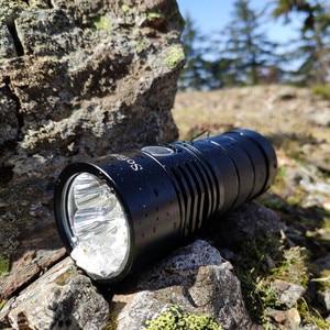 Image 5 - Semplice Edizione Sofirn SP36S 4 * Samsung LH351D 5200lm Potente Torcia A LED USB Ricaricabile 18650 Torcia 5000K 90 CRI 2 gruppi