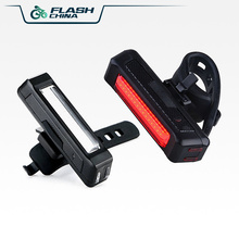 Bicycle LED Tail  Warning Light High Brightness Bike Accessories Flash Modes Usb chargeable Led Rear