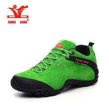 Xiangguan brand outdoor men outdoor hiking shoes slip resistant waterproof hiking Sneaker men outdoor sports shoes