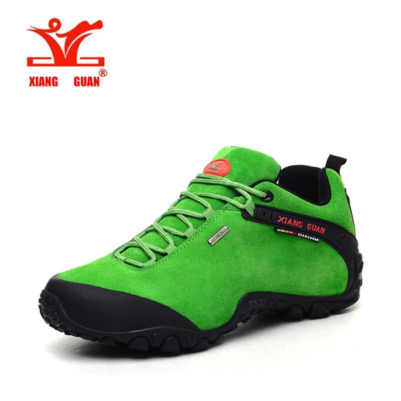 Xiangguan brand outdoor men outdoor hiking shoes slip resistant waterproof hiking font b Sneaker b font
