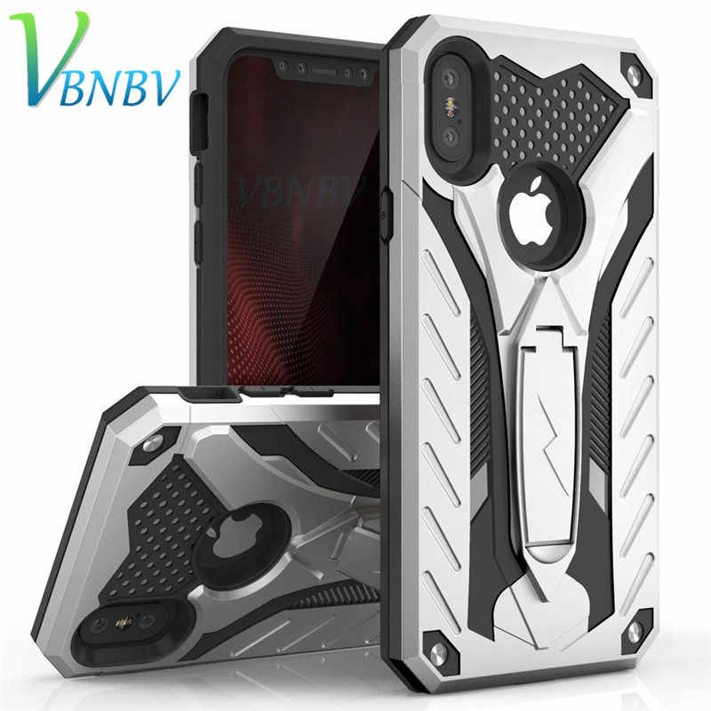 Shockproof Military Drop Tested Silicon Case For iPhone 8 7 6 6S Plus TPU Anti-knock Silicon Case Cover For iPhone X XS Max XR