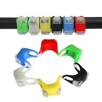 Odkryty noc silikonowa Lampa ostrzegawczą dla dziecka wózek spacerowy światło noc bezpieczeństwa bezpieczeństwo alert światła LED Lampa błyskowa Uwaga Lampa tanie i dobre opinie 14T EN bs AS NZS GS SOR ASTM babyyoya Stroller Frog Light Silikonowe 0-6 years