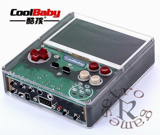 Retro GamesX7 4,3 inch Tragbare Handheld Spiel Spieler DIY hand-fest lösung Video Spiel Konsole