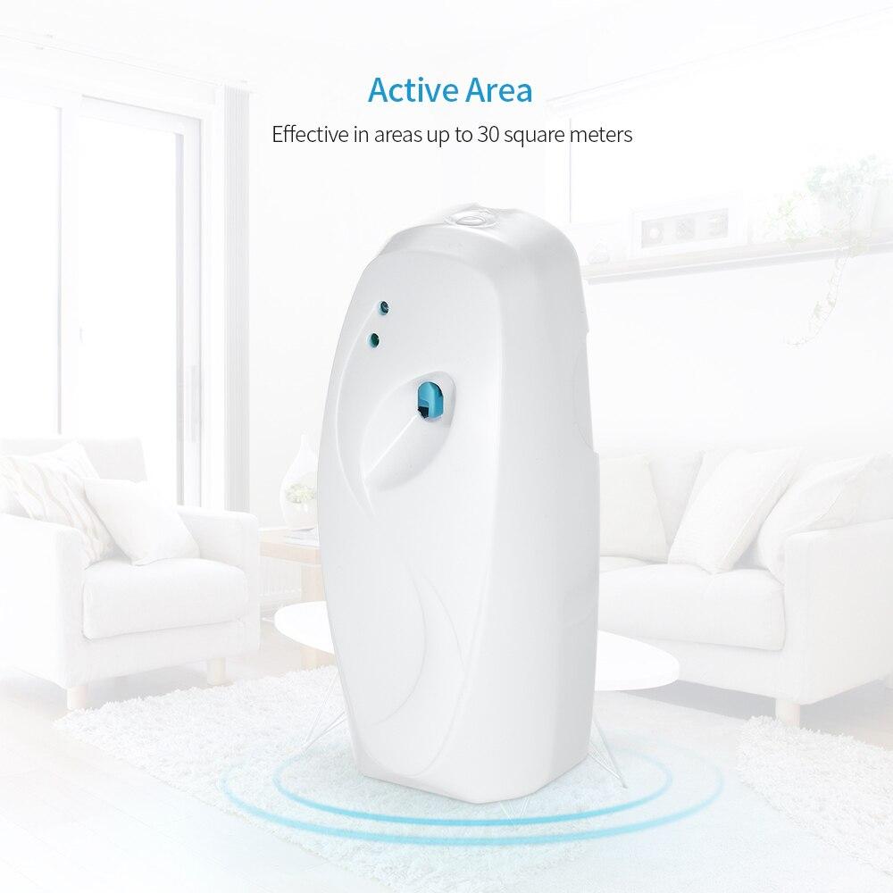 Ambientador automático dispensador de aerosol automático Perfume ambientador de pared luz Sensor pulverizador de Perfume