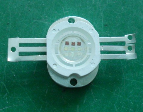 10W RGB high power led, with 6 to 11V Voltage and Superior ESD Protection
