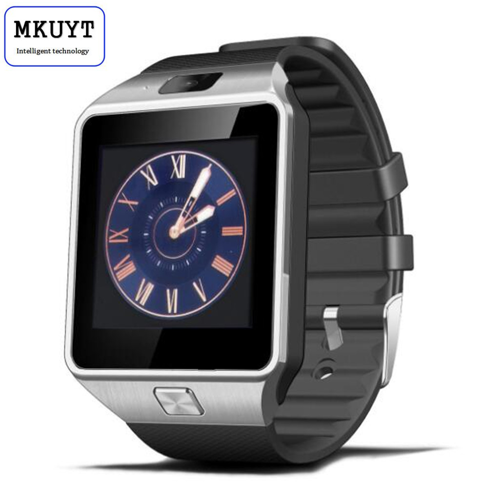 MKUYT DZ09 Bluetooth font b Smart b font Watch with Camera for Samsung S5 Note 2