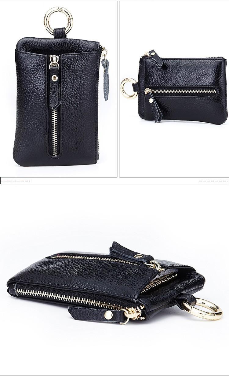 Women genuine leather key wallet 10-3