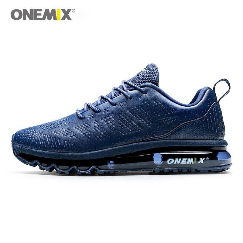 ONEMIX Trail baskets hommes coussin d'air chaussures de course respirant maille supérieure marche baskets Max 12.5