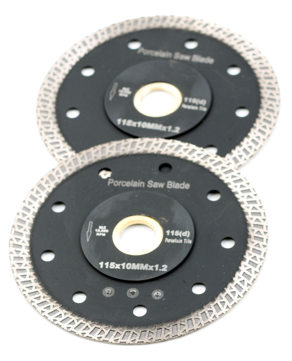 DC-SRSB02 D115mm Super Thin 4.5 Inch Diamond Porcelain Cutting Blade For Porcelain Tile Cutting