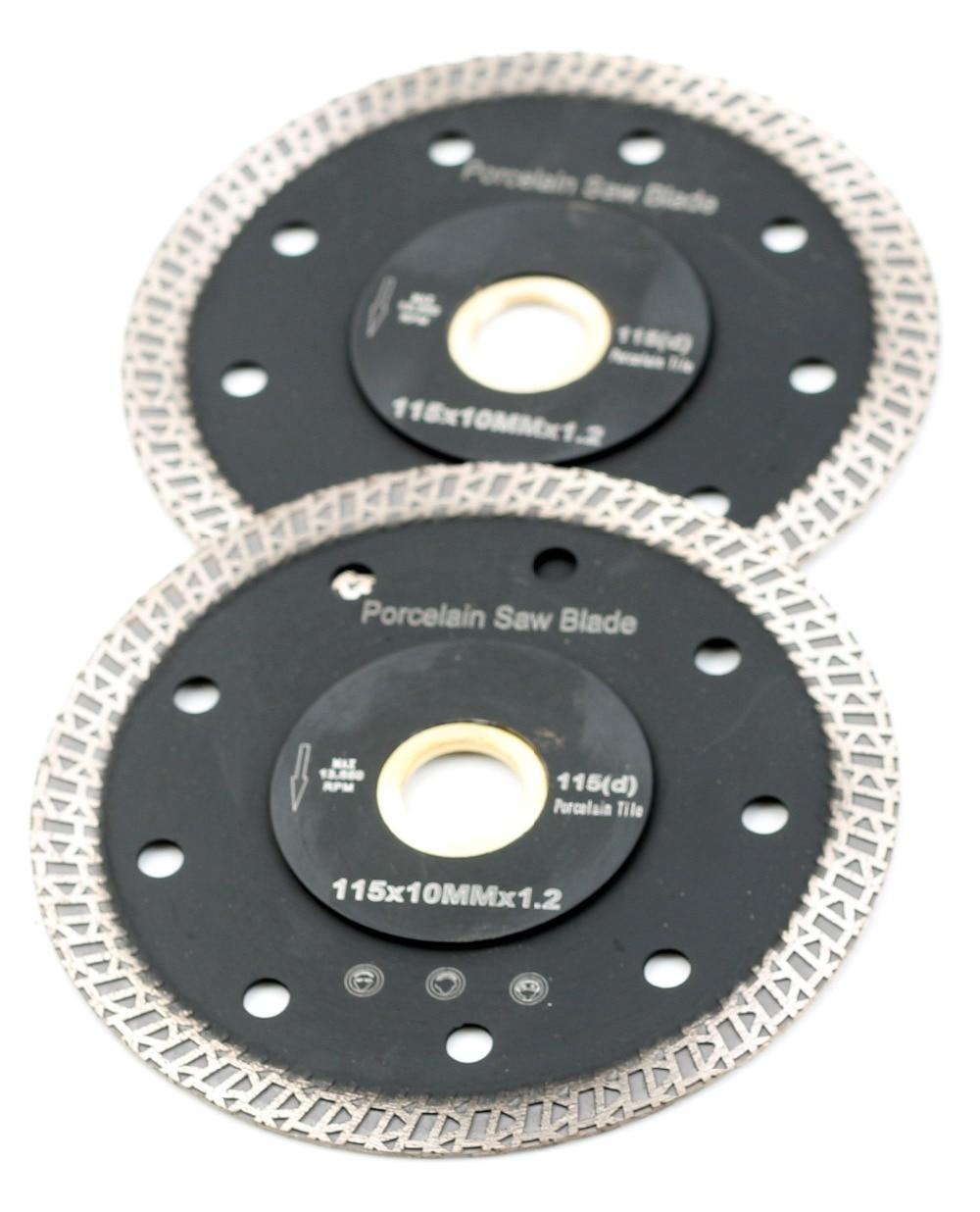Сверхтонкое лезвие для резки фарфоровой плитки, 4,5 дюйма, D115mm