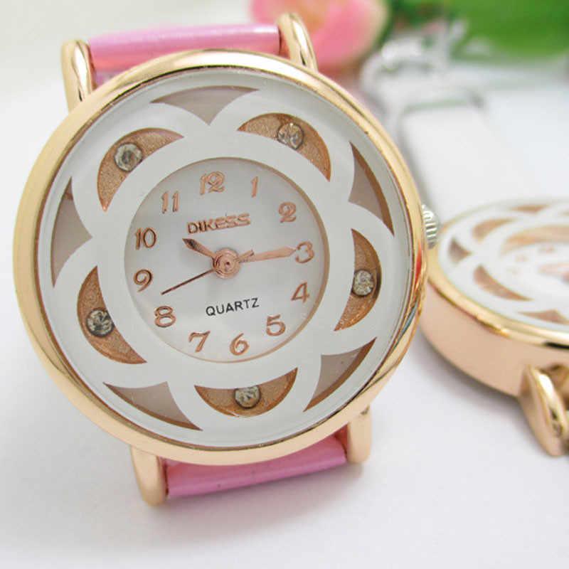 Relojes de pulsera de cuarzo Relojes de pulsera de diamantes para Mujer de lujo de moda de Aimecor